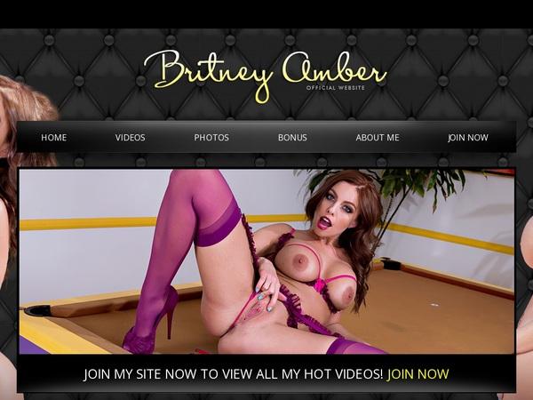 Britneyamber.com Login Pass