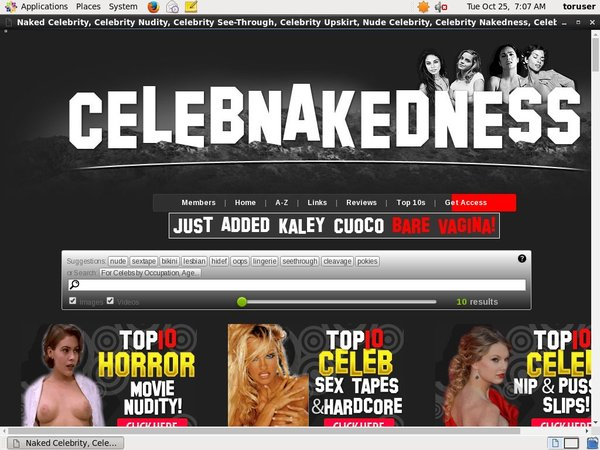 Celebnakedness.com Account And Password