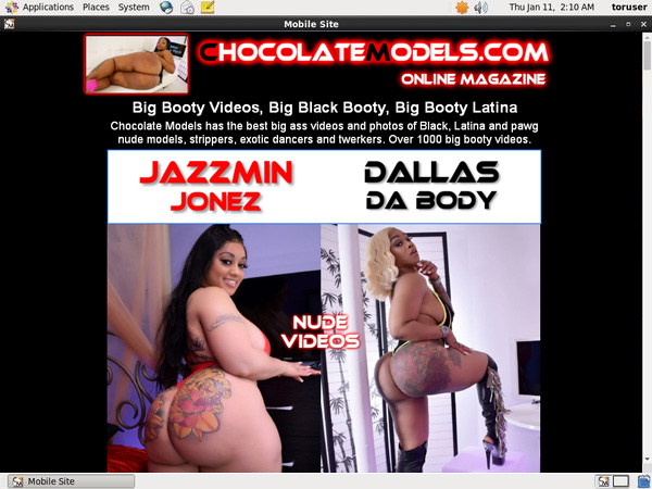 Chocolate Models Mobile Free Trial