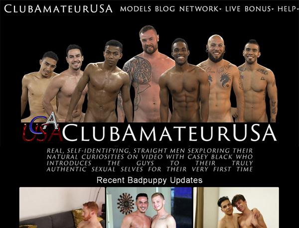 Club Amateur USA Member Passwords