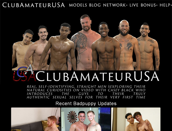 Club Amateur USA Signup