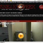 Get Into Sneaky Peek
