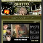 Ghetto Confessions Signup
