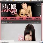 Handjob Japan Live