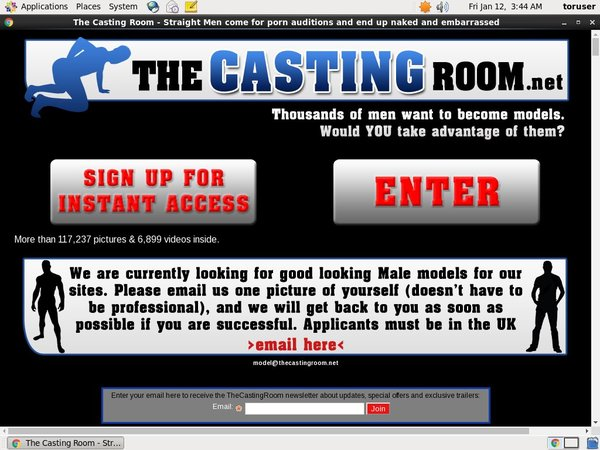 New The Casting Room Passwords