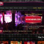 Stock Bar With Visa