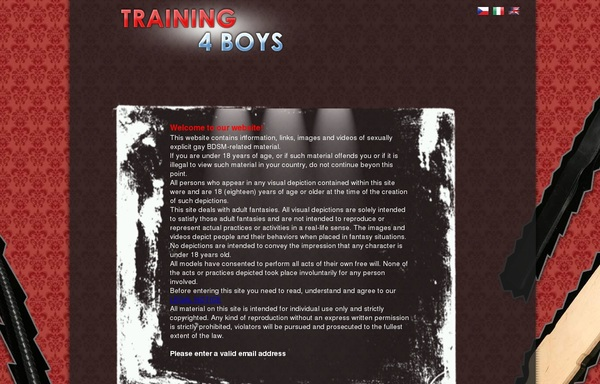 Training4boys.com Paypal Offer