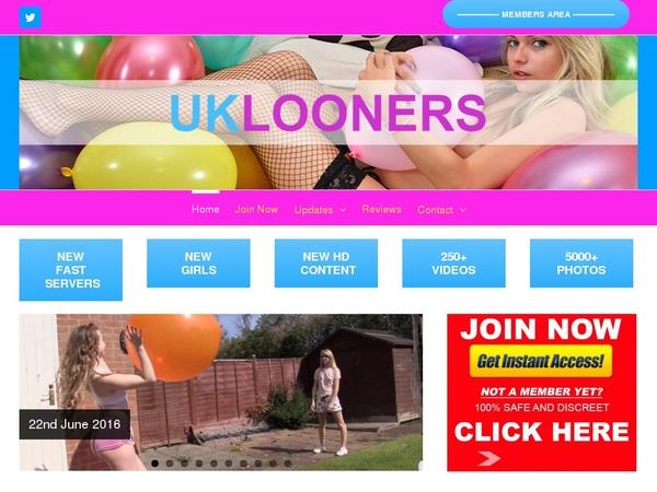 UK Looners Password Dump