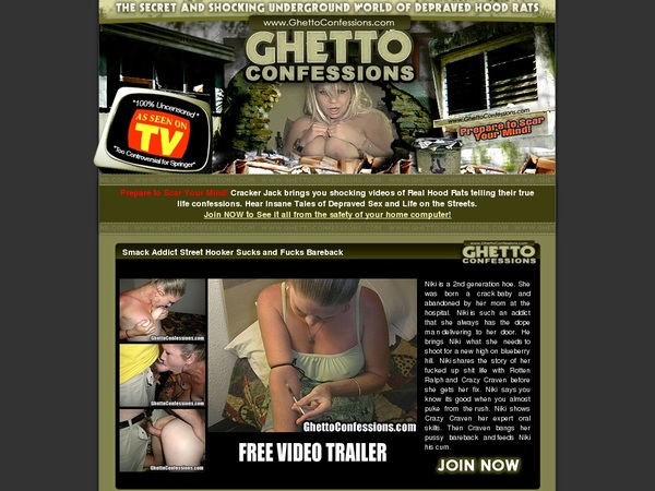 Ghettoconfessions.com Web Billing