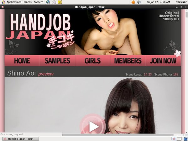 Handjobjapan Member Sign Up