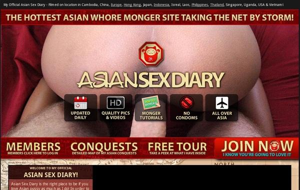 Asian Sex Diary Pass Free