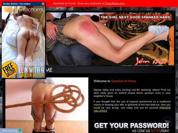 Premium Spanked At Home Password