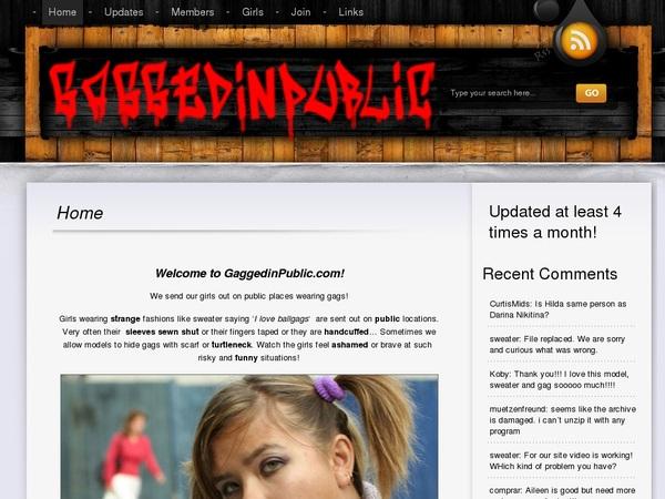 Gaggedinpublic Free Account Passwords