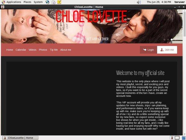 ChloeLovettepassword Free