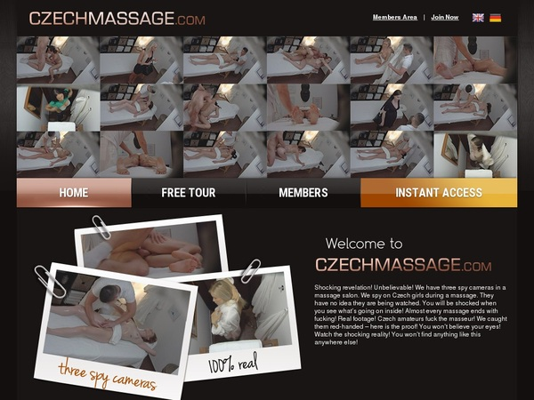 Accounts Czechmassage.com