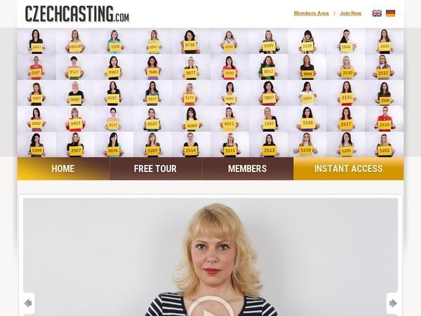 Czechcasting.com Web Billing